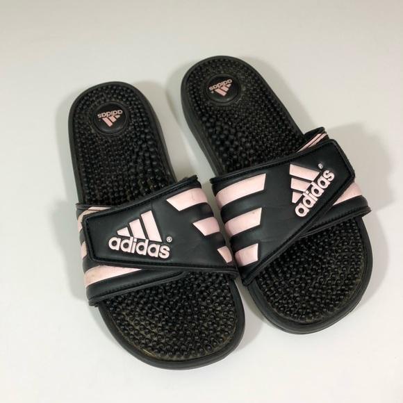 9544320950e0 adidas Shoes - Adidas Adissage Slides in Black Size 7